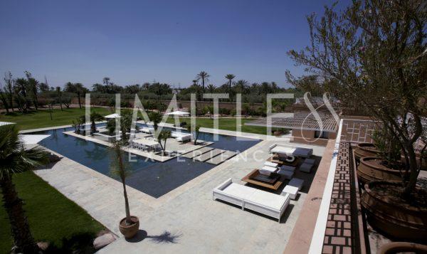 Location de villas d'exception à Marrakech